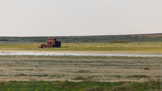 Ship graveyard, the Aral Sea, Kazakhstan, photo 1