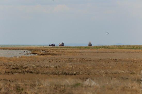 Ship graveyard, the Aral Sea, Kazakhstan, photo 11
