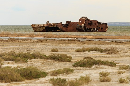 Ship graveyard, the Aral Sea, Kazakhstan, photo 14