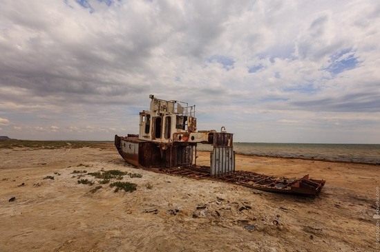 Ship graveyard, the Aral Sea, Kazakhstan, photo 19