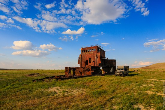 Ship graveyard, the Aral Sea, Kazakhstan, photo 2