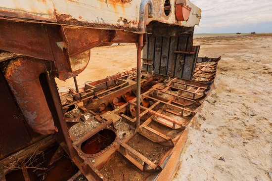 Ship graveyard, the Aral Sea, Kazakhstan, photo 20