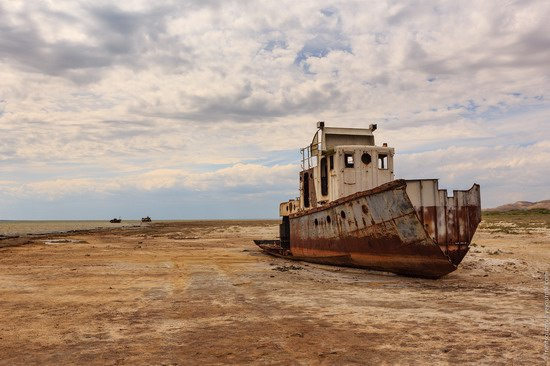 Ship graveyard, the Aral Sea, Kazakhstan, photo 22