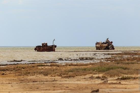 Ship graveyard, the Aral Sea, Kazakhstan, photo 23
