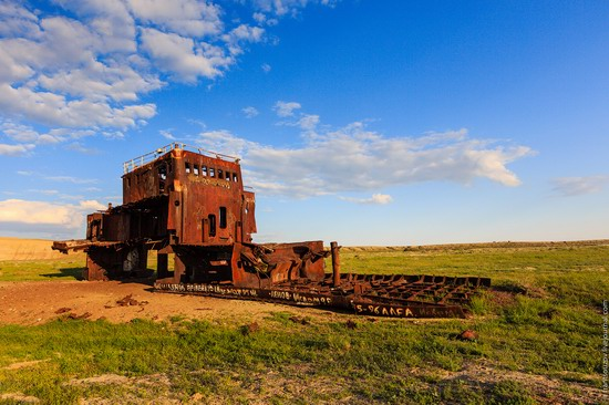 Ship graveyard, the Aral Sea, Kazakhstan, photo 3
