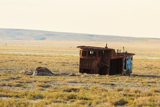 Ship graveyard, the Aral Sea, Kazakhstan, photo 4