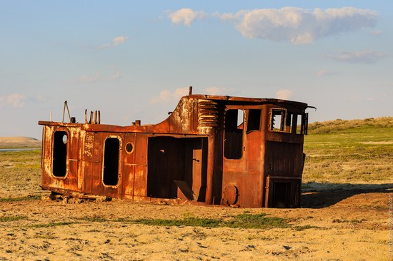 Ship graveyard, the Aral Sea, Kazakhstan, photo 5