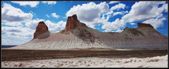 Alien landscapes, the Ustyurt Plateau, Kazakhstan, photo 1
