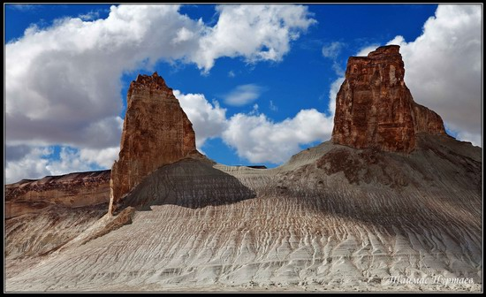 Alien landscapes, the Ustyurt Plateau, Kazakhstan, photo 2