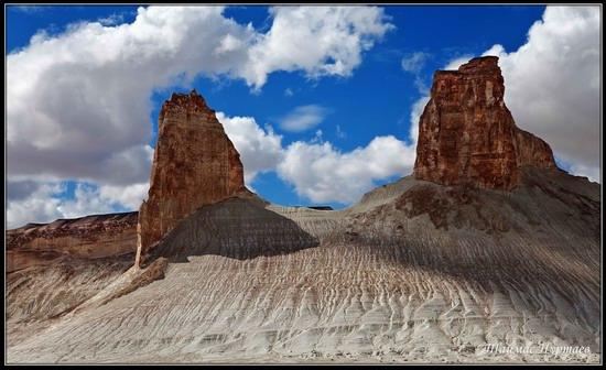 Alien landscapes, the Ustyurt Plateau, Kazakhstan, photo 2
