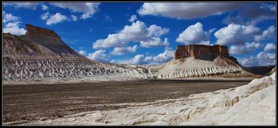 Alien landscapes, the Ustyurt Plateau, Kazakhstan, photo 3