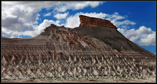 Alien landscapes, the Ustyurt Plateau, Kazakhstan, photo 4