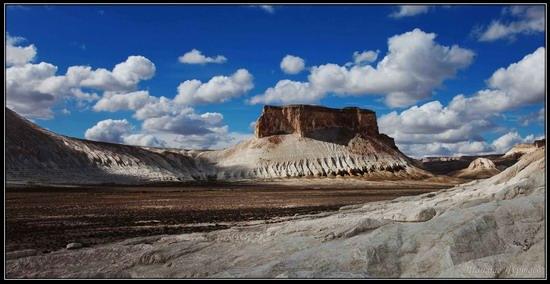 Alien landscapes, the Ustyurt Plateau, Kazakhstan, photo 5