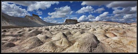 Alien landscapes, the Ustyurt Plateau, Kazakhstan, photo 6