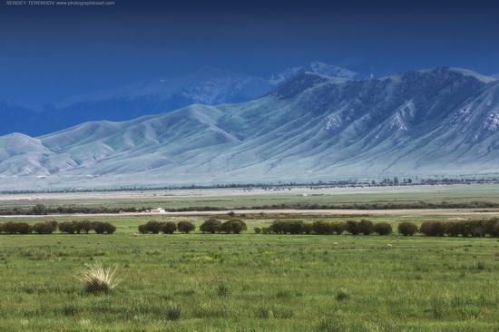 Lake Tuzkol landscapes, Kazakhstan, photo 2