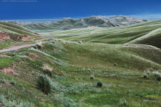 Lake Tuzkol landscapes, Kazakhstan, photo 5