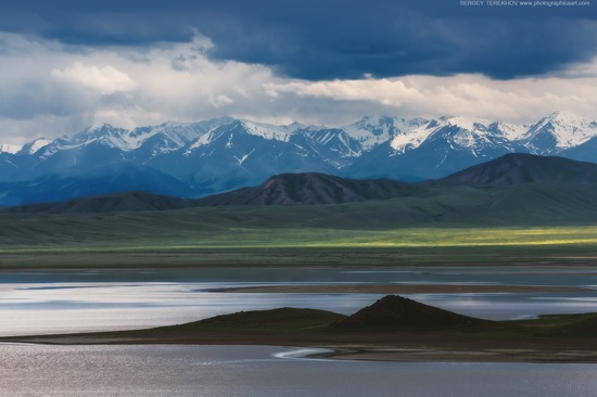 Lake Tuzkol landscapes, Kazakhstan, photo 8