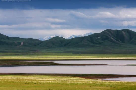 Lake Tuzkol landscapes, Kazakhstan, photo 9