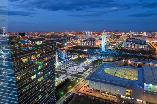 Summer in Astana, Kazakhstan, photo 4