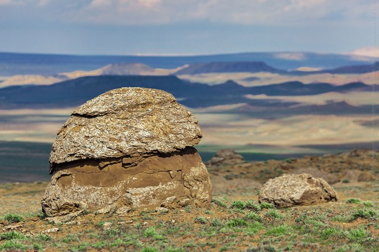 The field of spherical concretions Torysh in Mangistau, Kazakhstan, photo 10