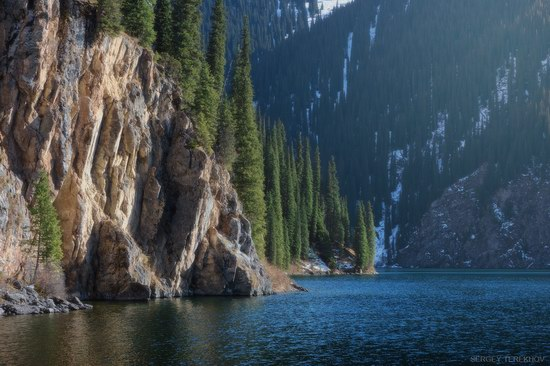 The second lake of the Kolsai lake cascade, Almaty region, Kazakhstan, photo 10