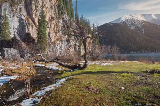 The second lake of the Kolsai lake cascade, Almaty region, Kazakhstan, photo 11