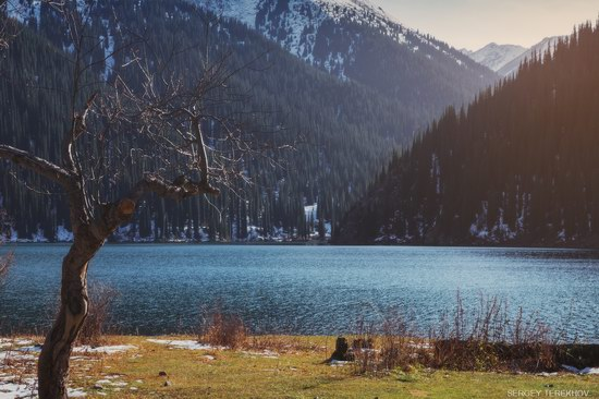 The second lake of the Kolsai lake cascade, Almaty region, Kazakhstan, photo 13