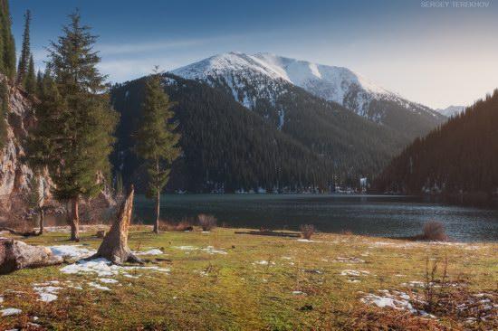 The second lake of the Kolsai lake cascade, Almaty region, Kazakhstan, photo 15