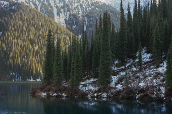 The second lake of the Kolsai lake cascade, Almaty region, Kazakhstan, photo 16