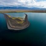 The beauty of the lakes Alakol and Balkhash