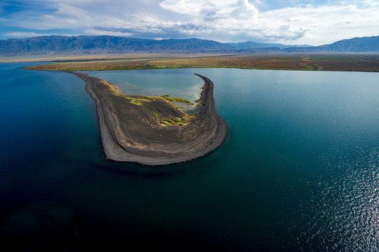 Alakol and Balkhash lakes, Kazakhstan, photo 1