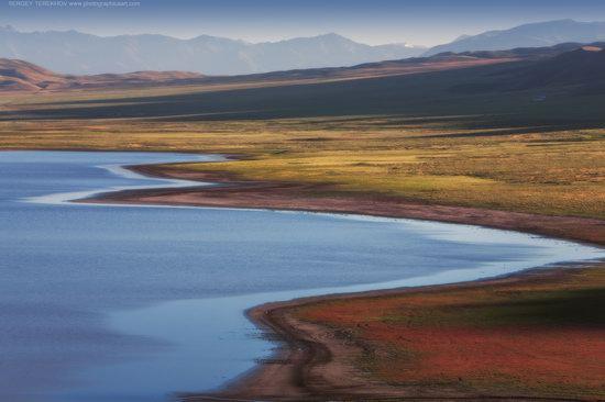 Scenery around Lake Tuzkol, Almaty region, Kazakhstan, photo 1