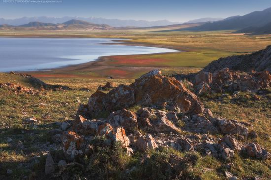 Scenery around Lake Tuzkol, Almaty region, Kazakhstan, photo 4