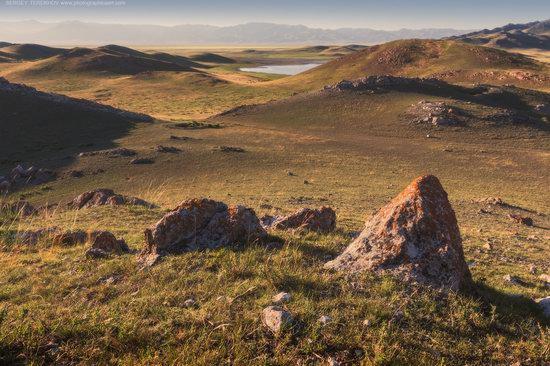 Scenery around Lake Tuzkol, Almaty region, Kazakhstan, photo 6
