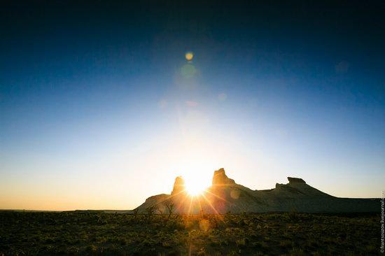 Sunset and night at Boszhira tract, Kazakhstan, photo 16