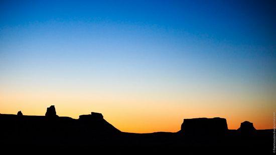 Sunset and night at Boszhira tract, Kazakhstan, photo 17