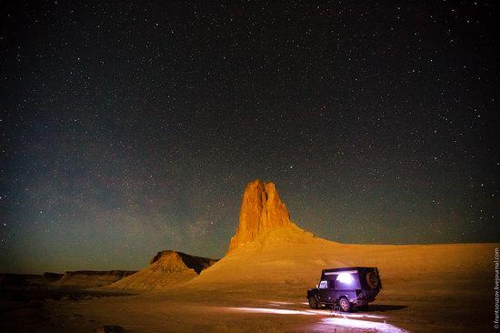 Sunset and night at Boszhira tract, Kazakhstan, photo 20
