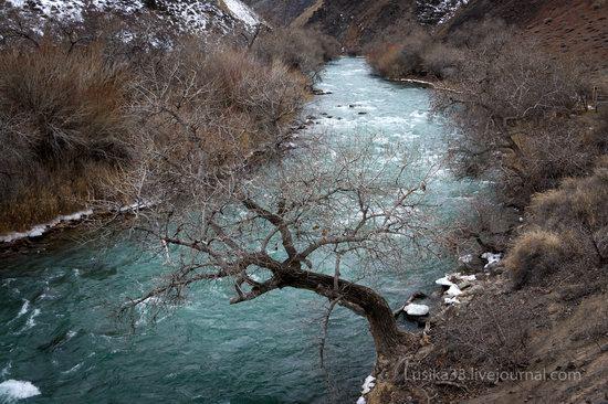 Charyn Canyon in the cold season, Almaty region, Kazakhstan, photo 12
