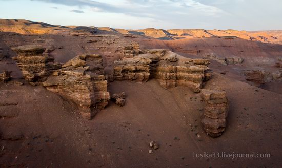Charyn Canyon in the cold season, Almaty region, Kazakhstan, photo 19