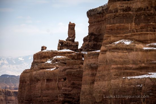 Charyn Canyon in the cold season, Almaty region, Kazakhstan, photo 4