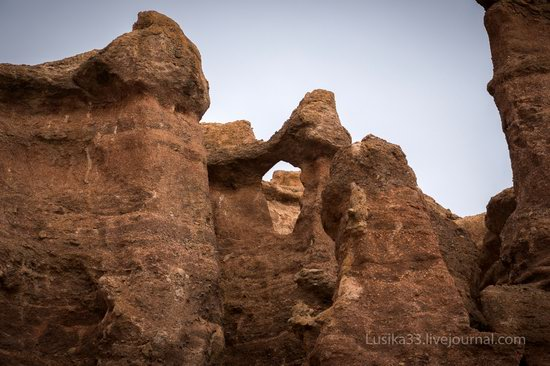 Charyn Canyon in the cold season, Almaty region, Kazakhstan, photo 6