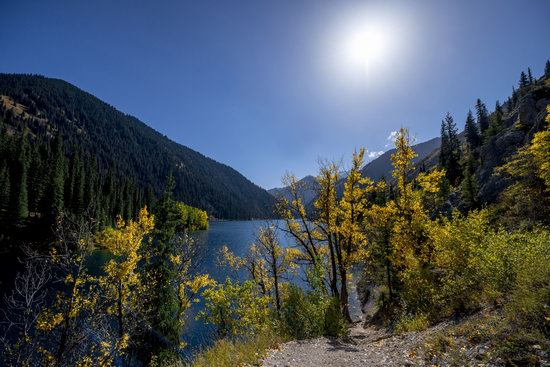 Golden Autumn on Kolsai Lakes, Kazakhstan, photo 12