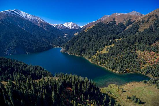 Golden Autumn on Kolsai Lakes, Kazakhstan, photo 2
