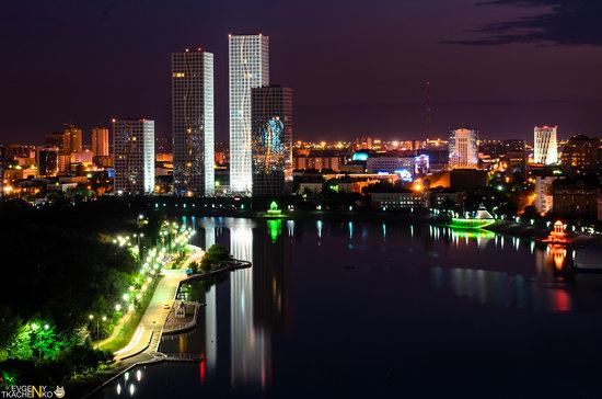 Astana at night, Kazakhstan, photo 10