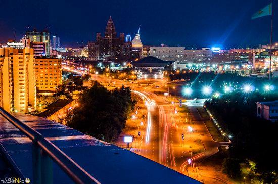 Astana at night, Kazakhstan, photo 11