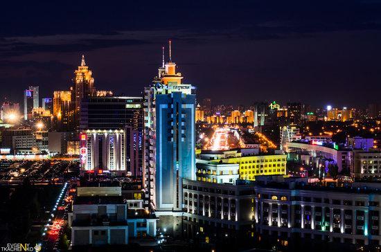 Astana at night, Kazakhstan, photo 5