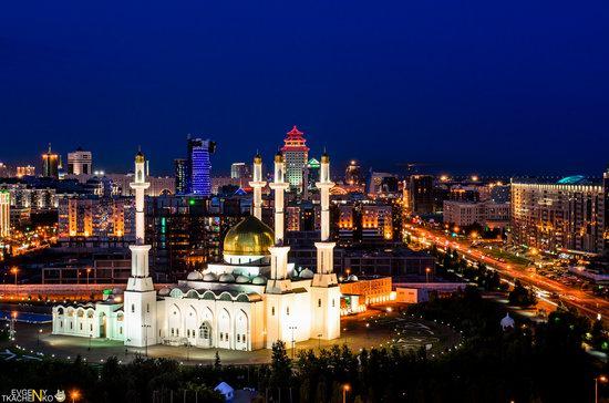 Astana at night, Kazakhstan, photo 6