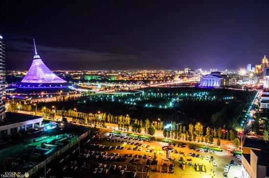 Astana at night, Kazakhstan, photo 7