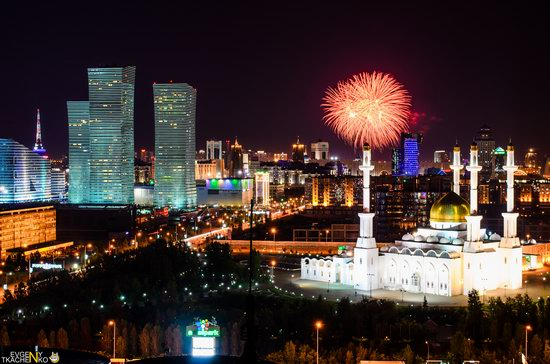 Astana at night, Kazakhstan, photo 9