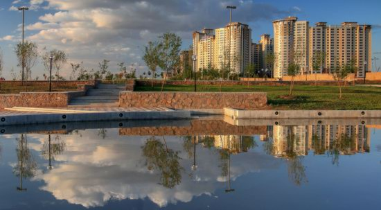 Astana in reflections, Kazakhstan, photo 9